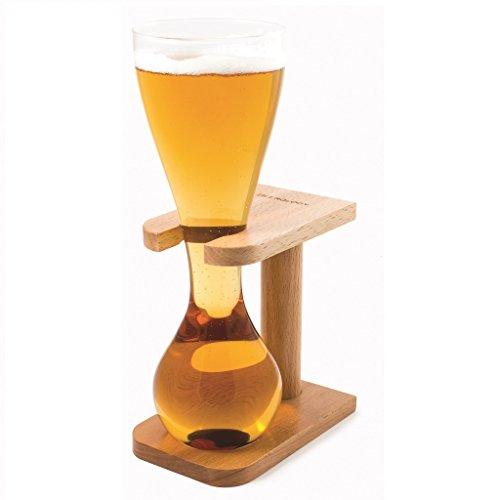 ckb-ltdr-quarter-yard-tall-ale-glass-with-smart-birch-wood-stand-holder-kwak-bierglaser-bierglas-mit