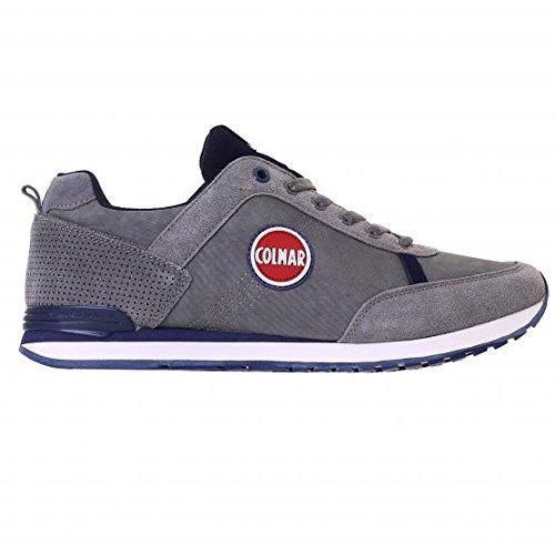 Colmar TRAVIS Sneakers Bassa Uomo Grigio 41