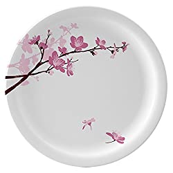 Servewell Pink Blossoms Round Dinner Plate Set of 6