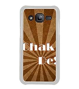Chak De 2D Hard Polycarbonate Designer Back Case Cover for Samsung Galaxy J2 J200G (2015) :: Samsung Galaxy J2 Duos :: Samsung Galaxy J2 J200F J200Y J200H J200GU