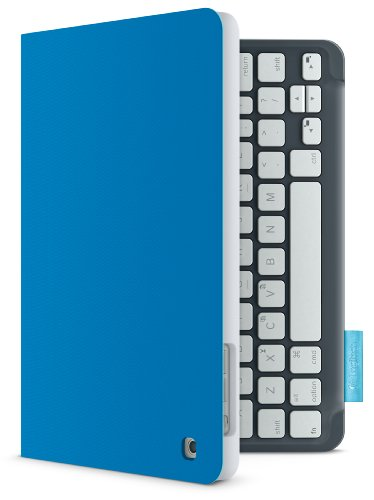 Logitech Keyboard Folio for iPad mini – Electric Blue (920-005177)