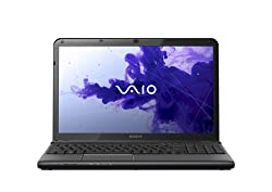 Sony 15-inch Vaio E-Series Laptop - White (PDC 2.4GHz, 4GB RAM, 500GB HDD, Windows 8)