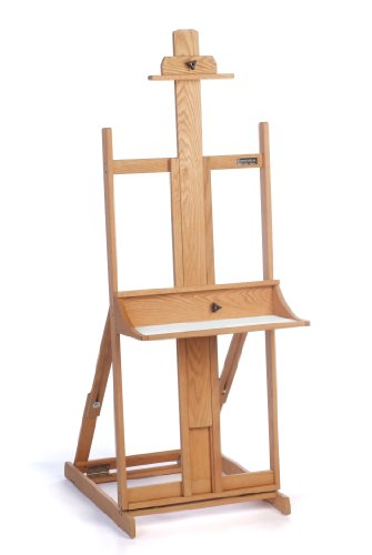 American Easel Oak Maestro Easel-Golden Finish
