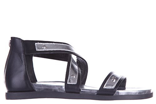 Armani Jeans sandali donna in pelle originale nero EU 37 C5782 24 12