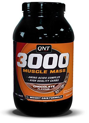 QNT 3000 1300 g Chocolate Muscle Size and Weight Gain Shake Powder