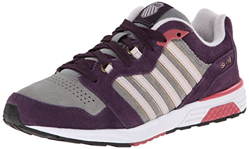K-Swiss Women's SI 18 Rannell 2 P Fashion Sneaker,Stingray/Plum Perfect/Hushed Violet,10 M US