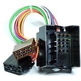 KFZ ISO RADIOADAPTER OPEL Quadlock Radio Adapter Kabel
