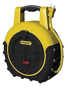 33959 ShopMax Power Hub 20-Feet 4-Outlet Cord Reel - - Amazon.com