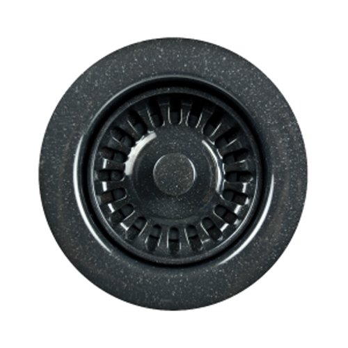 Schock-Houzer 190-9568 Disposal Flange 3-1/2-Inch Opening, Speckled Granite Black