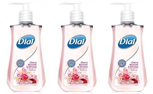 Dial Cherry Blossom and Almond Liquid Hand Soap with Moisturizers 7.5 fl. oz. (Pack of 3) (Liquid Hand Soap Dial compare prices)