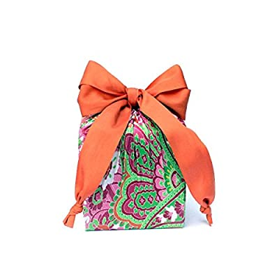 Eco Friendly + Reusable Stretchy Fabric Gift Wrap - Matte Ribbon