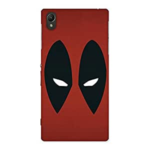 Red Dead Black Eye Back Case Cover for Sony Xperia Z1
