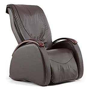 Inner Balance Inner Balance Wellness MC735 Faux Leather Massage Chair, Brown