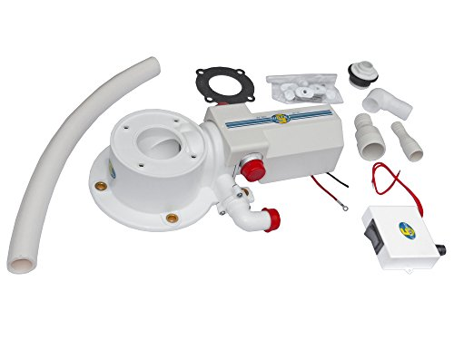 12v Electric Head Conversion Kit W/macerator Pump for Marine Toilet- Five Oceans