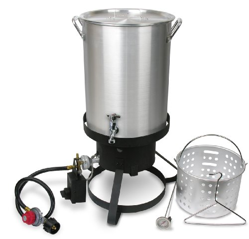 Cajun Injector Propane Gas Turkey and Seafood Fryer