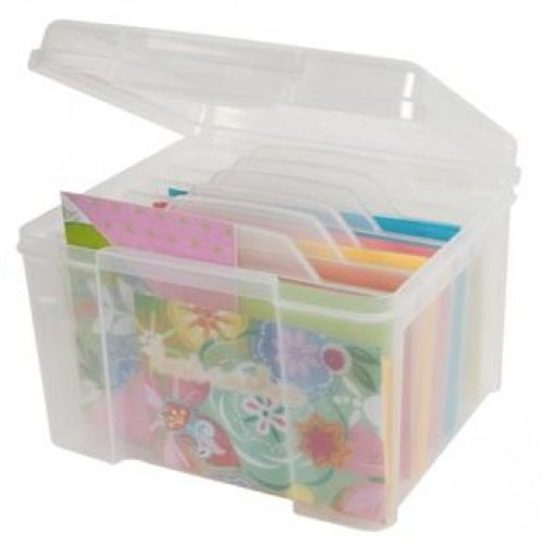 IRIS Greeting Card and Craft Keeper, Clear (Lids Gift Cards Store compare prices)