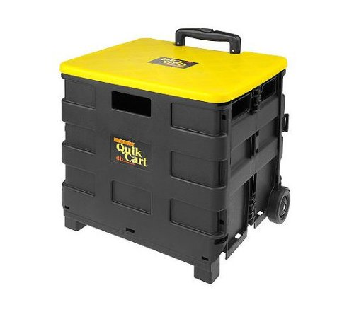 Ultra Compact Quik Rolling Cart by dBest