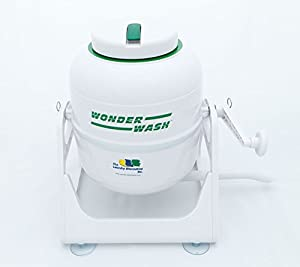 The Laundry Alternative Wonderwash Non-electric Portable Compact Mini