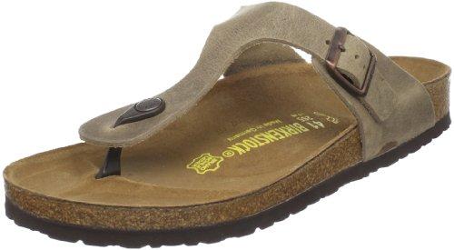 Birkenstock Women'S Gizeh Thong Sandal,Tobacco Brown,38 M Eu