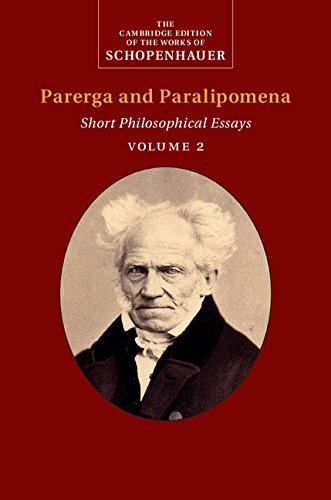 Essays from the edge parerga paralipomena