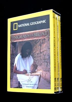 Enigmas de la Biblia II - National Geographic 3 dvd boxset (Cain y Abel / Los Pergaminos del Mar Muerto / Reyes de Israel) [NTSC/Region 1 and 4] (Audio: English/Spanish)