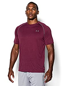 Under Armour Men's UA Tech™ Short Sleeve T-Shirt Large Sherry