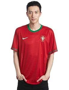 Nike Men Fußball Trikot Portugal Home / 447883-638 Farbe: Gym Red/Pine Green