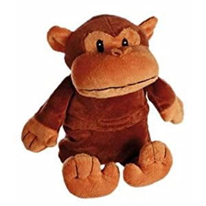 Bouillotte peluche singe