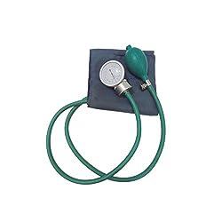 IndoSurgicals Sphygmomanometer, Aneroid Type Bp Monitor (Green)