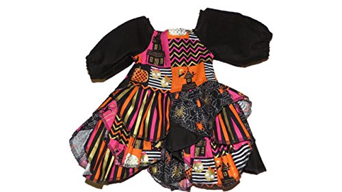 Jojo's Boutique Halloween Petal Ruffle Peasant Dress 6-12 months (Mustard Pie 12 Months compare prices)