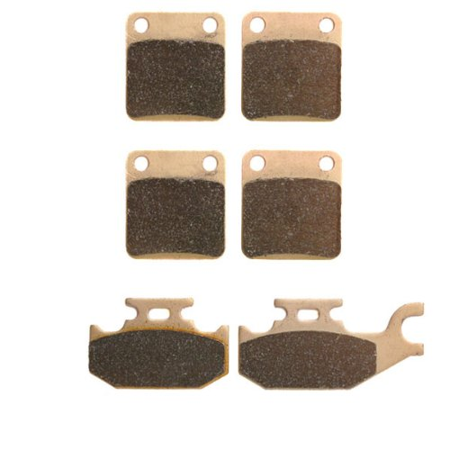 2007-2013 Yamaha Grizzly 450 YFM450 4x4 Sintered HH Front & Rear Brake Pads (2011 Yamaha Grizzly 450 compare prices)