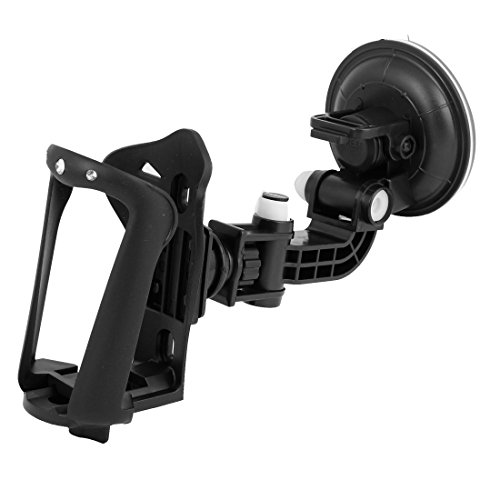 Black Car Windsheild Window Mount Drink Bottle Cup Holder Bracket front-955650