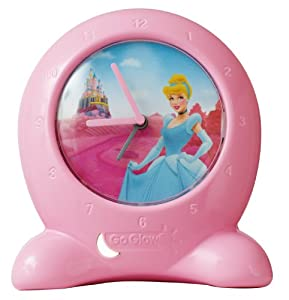 Disney Princess Go Glow Bedtime Trainer Clock from Worlds Apart