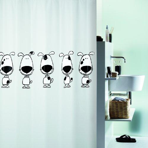 Spirella 10.12416 Tenda da doccia con beagle 180x200 cm