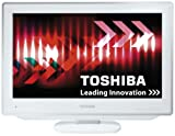 Toshiba 19DV714B 19 inch Widescreen HD Ready LCD TV/DVD Combi with Freeview   White home cinema video