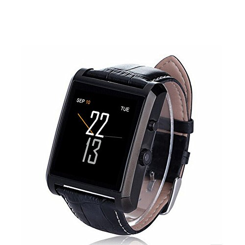 Yarrashop Luxurious Bluetooth 4.0 Smartwatch with Leather Strap