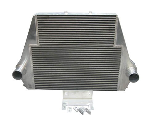 Intercooler Double Core For 99-03 Ford Super Duty 7.3L Diesel F250 F350