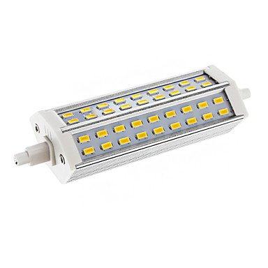 Dimmable R7S 15W 54Xsmd 5730 2700Lm 2800-3000K Warm White Light Led Corn Bulb(Ac 110-130V)