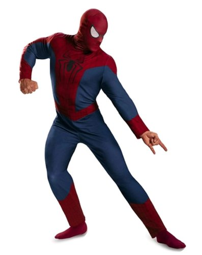 The Amazing Spider-Man Movie 2 Classic Adult Costume Size:XXL 50-52