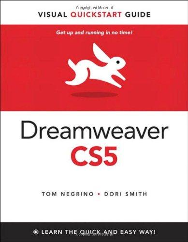 Dreamweaver CS5 for Windows and Macintosh: Visual...