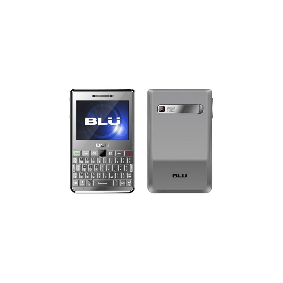 BLU Q300 Cubo   Unlocked Phone   US Warranty   Retail Packaging   Grey
