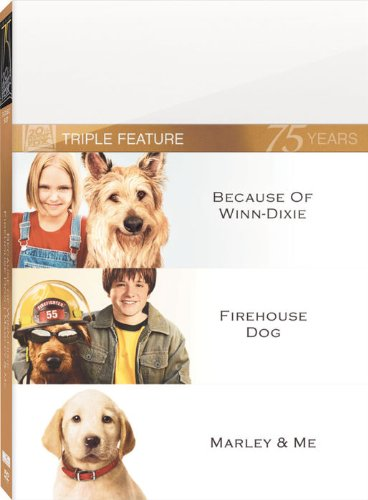 Because of Winn-Dixie / Firehouse Dog / Marley & Me (Winn Dixie compare prices)