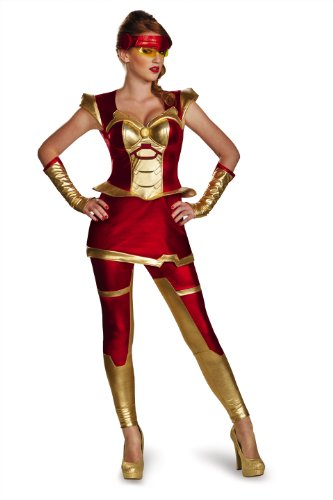Disguise Women's Marvel Iron Man Movie 3 Iron Girl Bustier Costume
