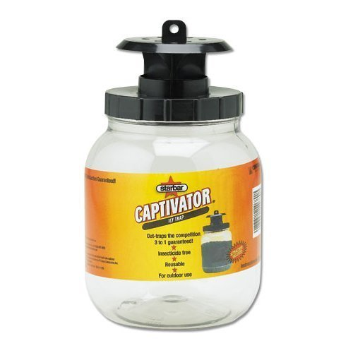 Farnam Home and Garden 14680 Starbar Captivator Fly Trap, 2-Quart