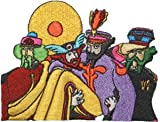 The Beatles Yellow Submarine Band Members in Costume Embroidered iron on Patch Amazon.com