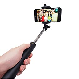 Gifts For Him,Selfie Stick, Kengadget Monopod With Adjustable Holder Fit For iphone 6,6s,6s Plus,Samsung Galaxy S7,A3,A5,Built-in Bluetooth Remote Shutter Easy For Self Shooting Selfy & Portrait.Ideal Gifts For Her,Men,Women & Boyfriends.