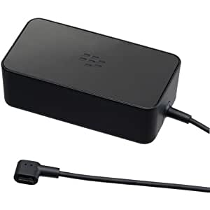 Blackberry Rapid Travel Charger for Playbook - Retail Packaging - Black