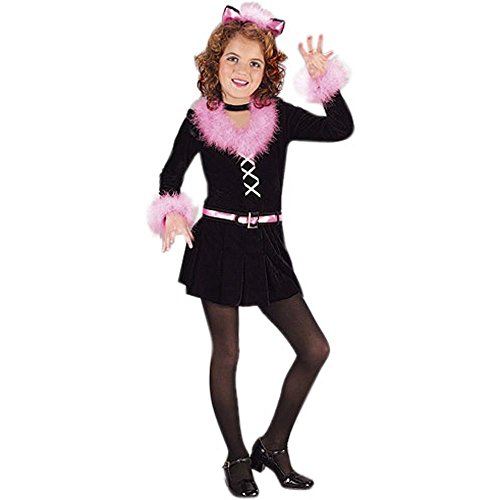 Child's Kitty Cat Costume (Size:Medium 8-10)