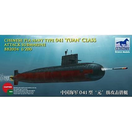 Bronco Models - Sous-marin d'attaque de l'armée populaire chinoise de classe Yuan - BB2004
