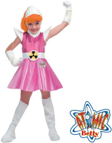 Disguise Girl's Atomic Betty Costume